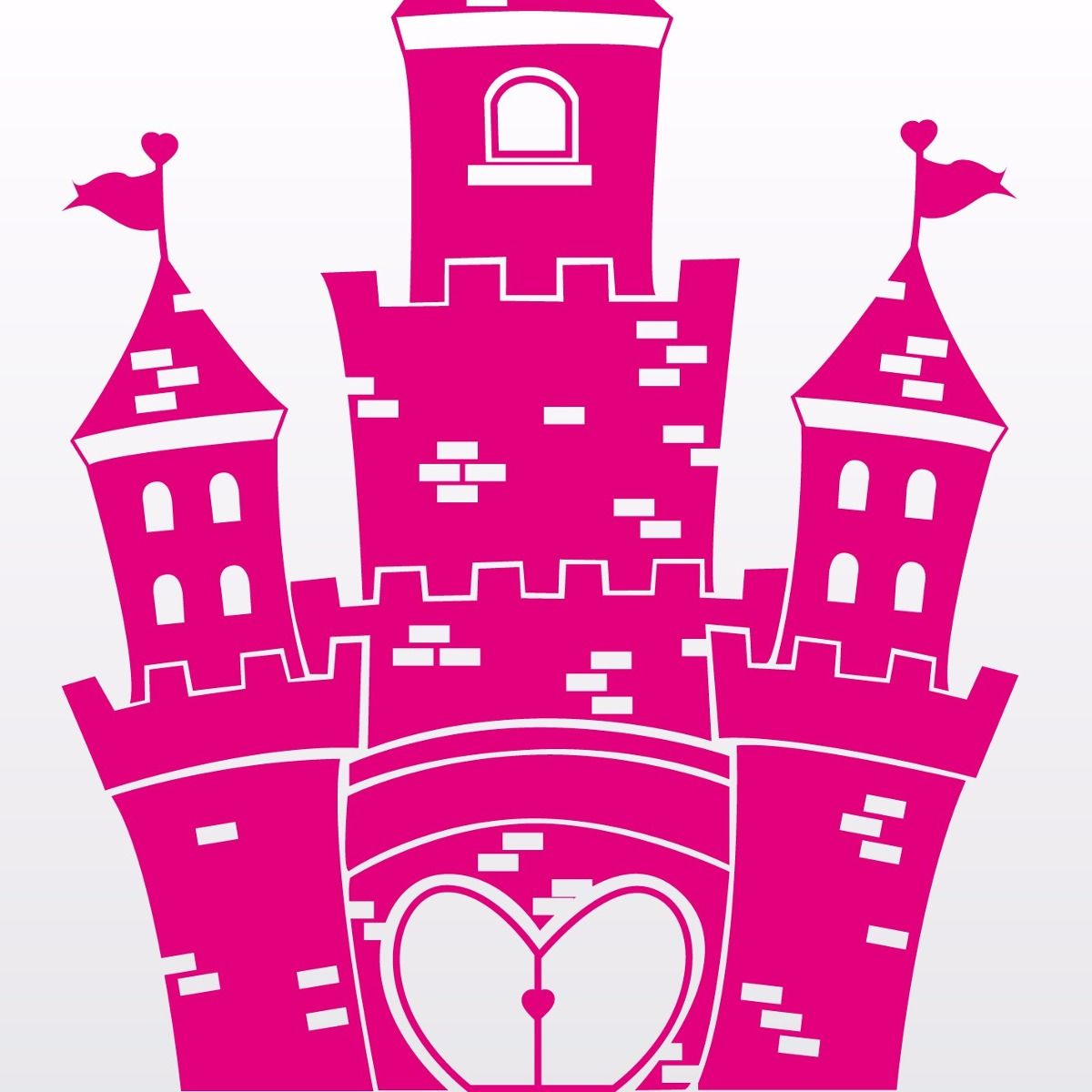 vinilos decorativos para pared infantiles castillo
