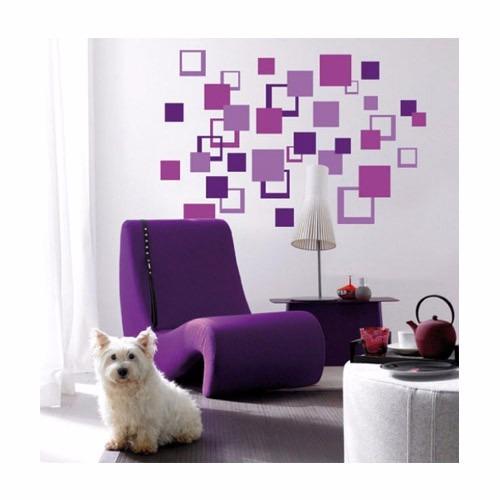Vinilos decorativos para pared vidrieras murales cuadrados - Vinilos para vidrieras ...