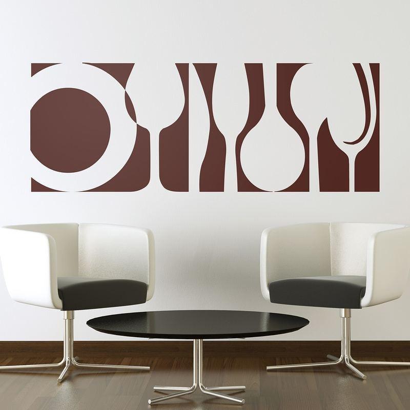 Vinilos decorativos para paredes calcomanias paredes bs en mercado libre - Cambiar cocina con vinilo ...