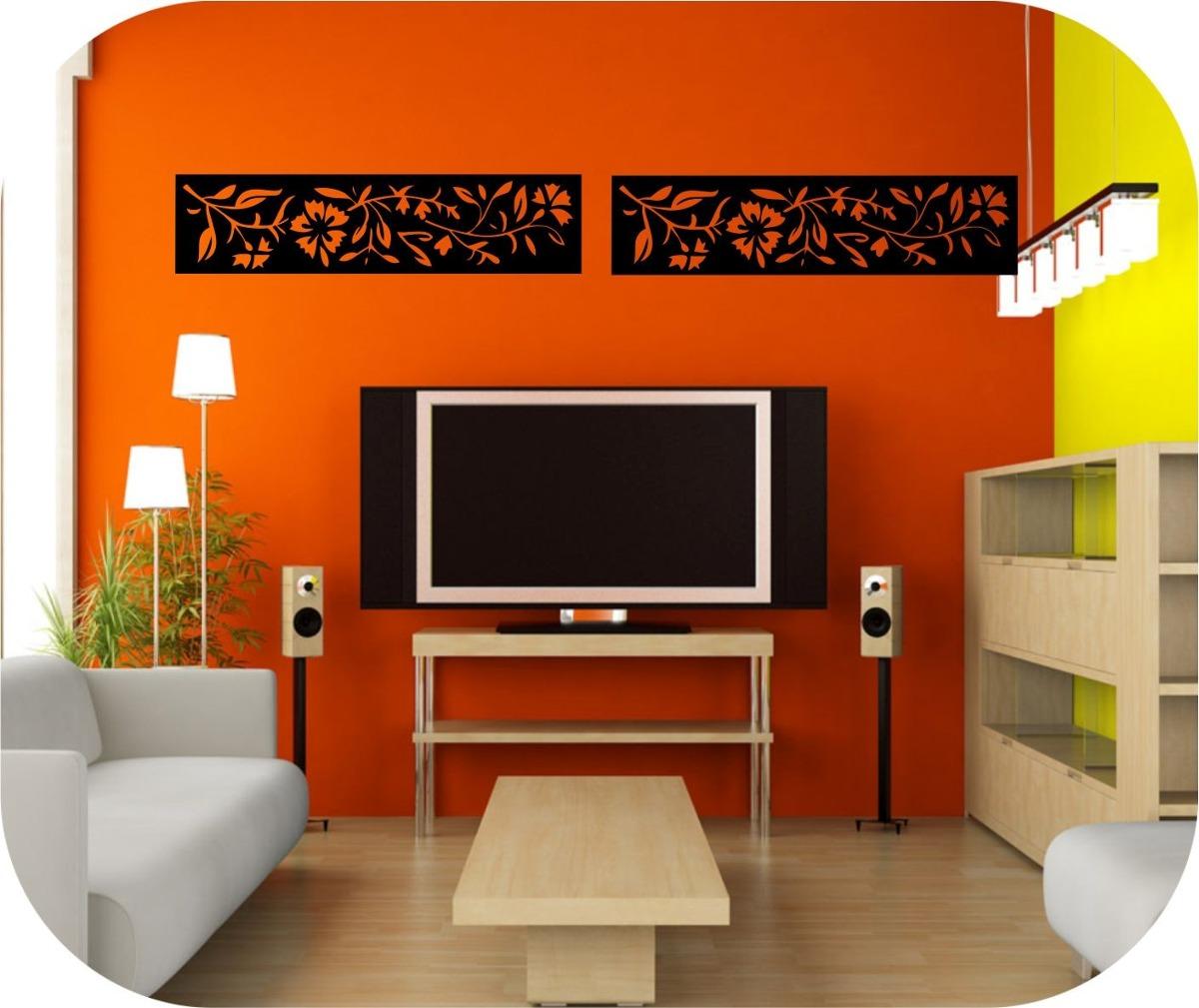 Vinilos decorativos para paredes cenefas cintas en vinilo - Frisos decorativos para paredes ...