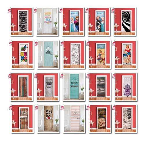 vinilos decorativos para puertas - ploteos calidad premium