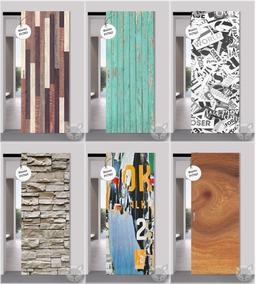 Vinilos Decorativos Para Puertas Ploteos Texturas Madera