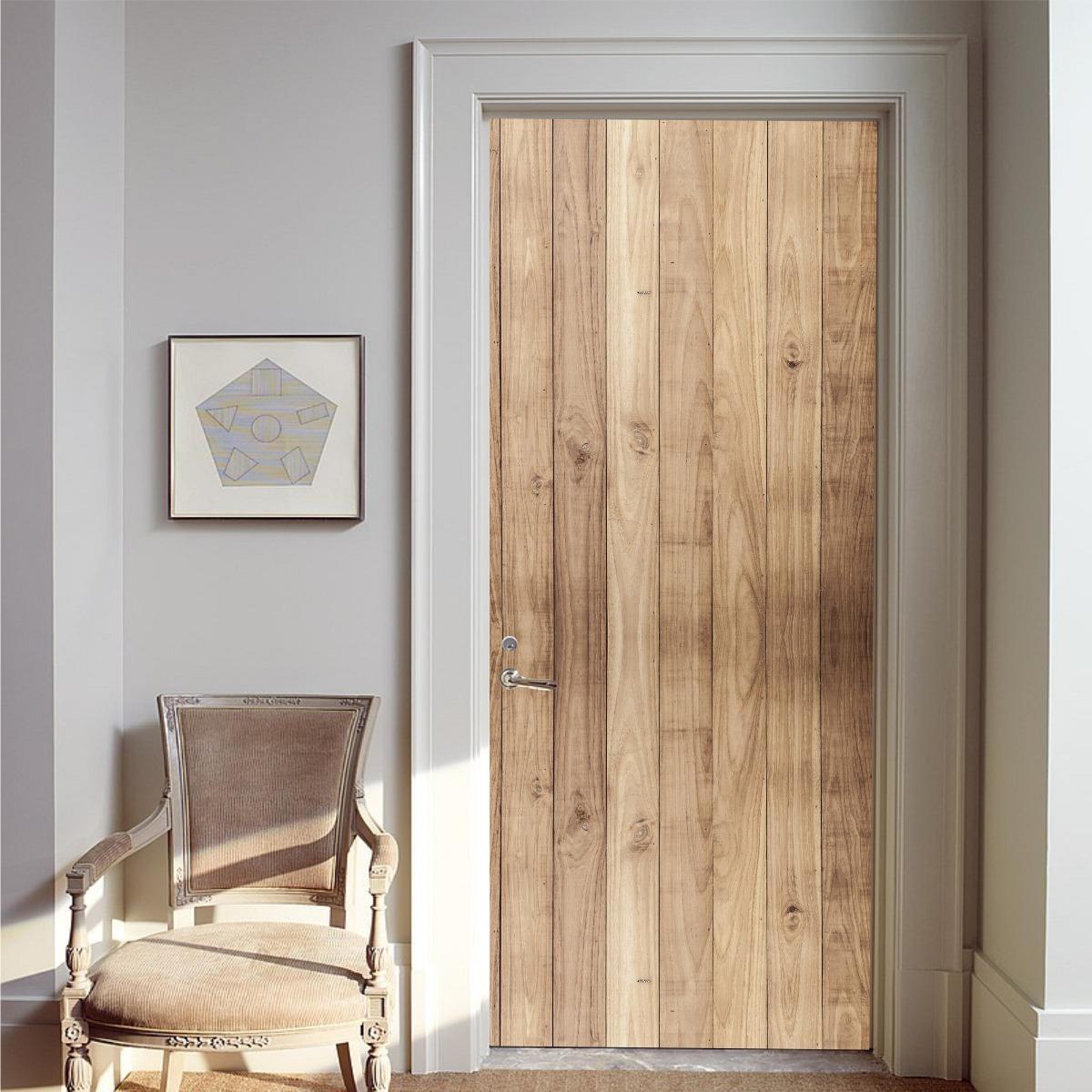 Vinilos madera para puertas cheap bqlzr x cm cuadrado de - Vinilos decorativos para puertas ...