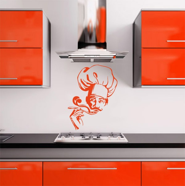 Vinilos decorativos para tu cocina rotulados paredes - Vinilos para cocina baratos ...