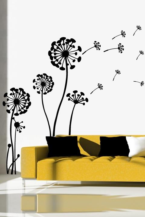 Vinilos decorativos para tu sala o comedor s 40 00 en - Vinilos decorativos para salon ...