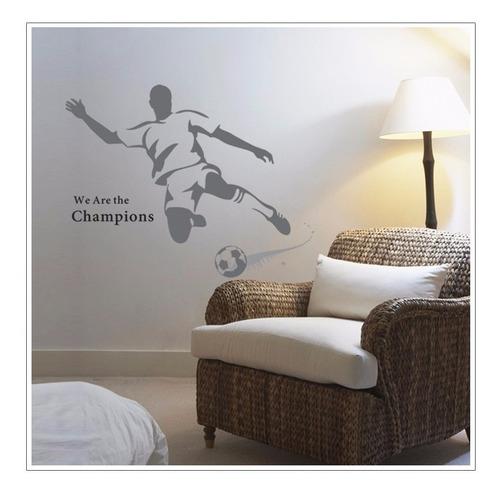 vinilos decorativos pared futbol champions jm8261 4 colores