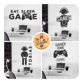 Vinilos Decorativos Pared Gamer Game Juegos Play Xbox