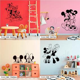 Vinilos Infantiles Disney.Vinilos Decorativos Pared Infantiles Mickey Minnie Disney