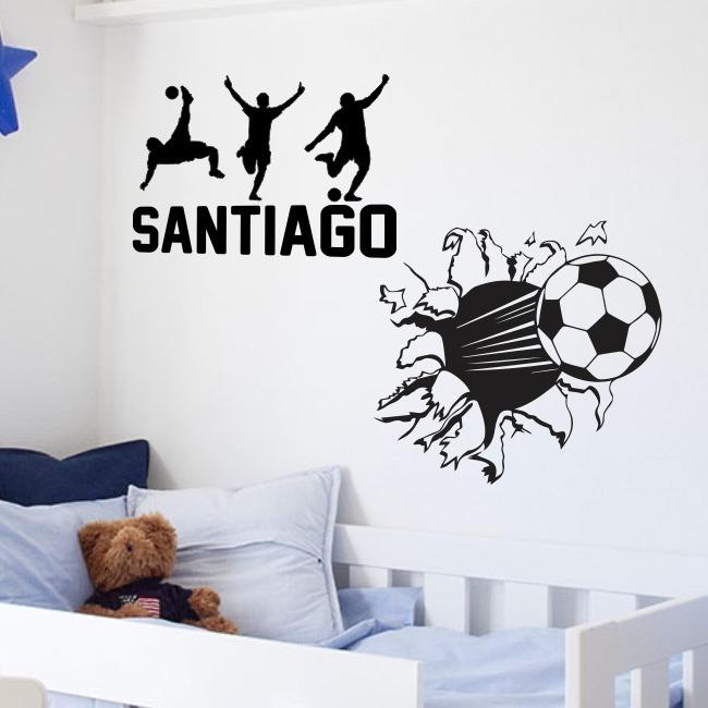 Vinilos Decorativos Pared Pelota Infantiles Futbol Jugadores -   539 ... 868c47d46691d