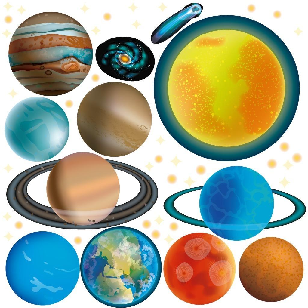 Vinilos Decorativos Planetas Sistema Solar Galaxia