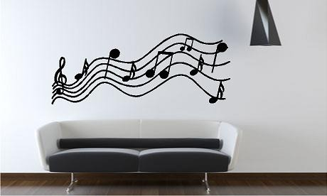 Vinilos decorativos recamara sala casa farol musica for Vinilos decorativos recamaras