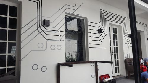 vinilos decorativos sobre diseño, instalación y rotulación