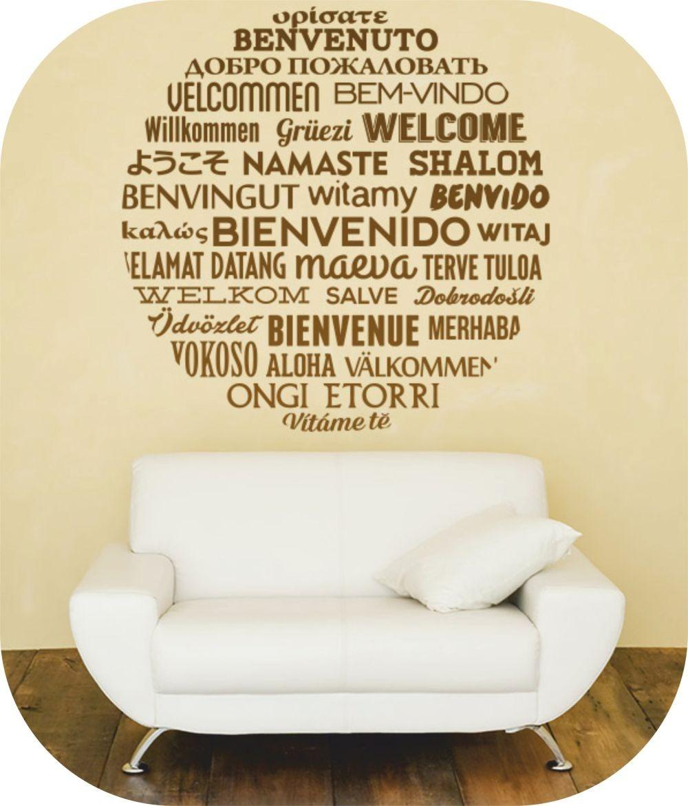 Vinilos decorativos textos y frases celebres rotulados for Vinilos para casa