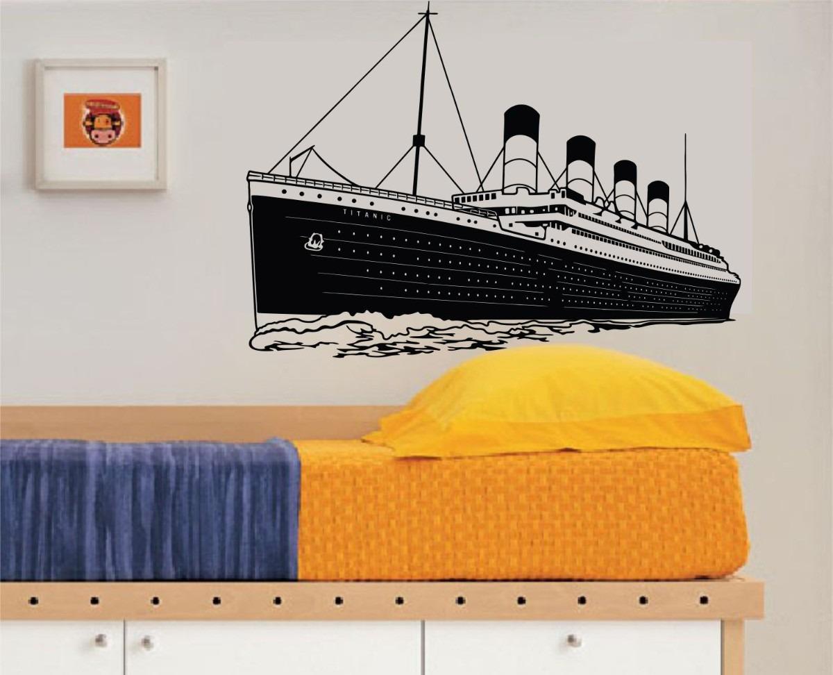 vinilos decorativos titanic barco pequeo