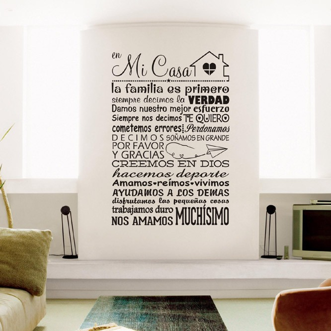 Vinilos decorativos viniles decoracion hogar para for Donde encontrar vinilos decorativos
