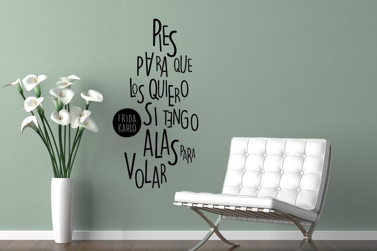 Vinilos decorativos para pared textos vinilo design for Donde venden vinilos decorativos