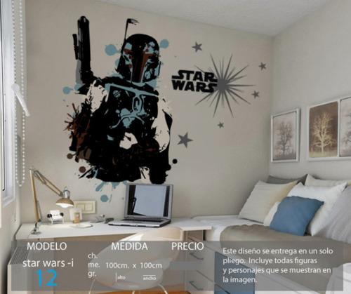vinilos decorativos y calcomanias de pared star wars clones