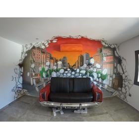 Vinilos Digo Mejor Q Vinilo Cualquier Superficie Mural Arte Graffiti Cuadros Letras Logos Realismos 3d Perspectivas