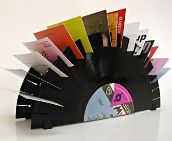 vinilos discos lps acetatos decoracion tarjetas pequeños