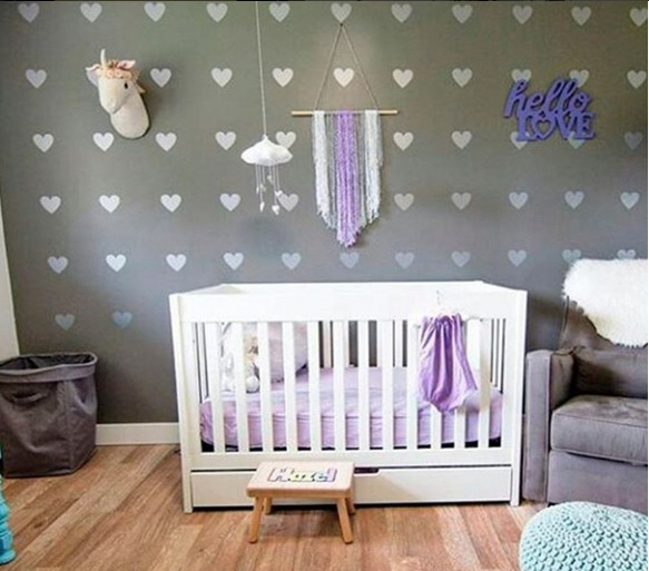 vinilos kits para decorar nombres cuartos bebes hogar