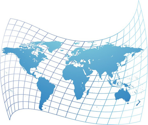 vinilos mapa del mundo- arma el tuyo!! (caba)