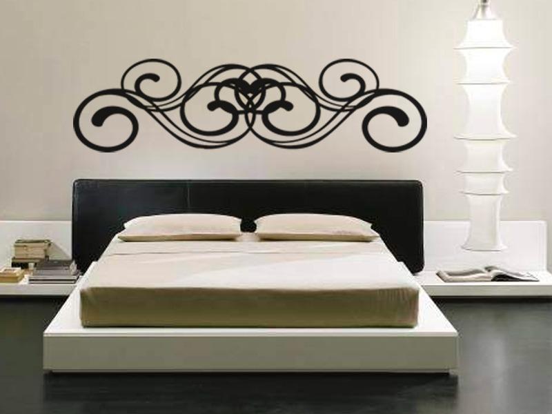 Vinilos de cabeceros de cama awesome cabeceros cama for Vinilos cabecero cama