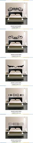 vinilos pared decorativos cabeceros cama
