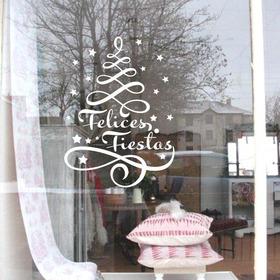 Vinilos Vidriera Pared Dia Madre Primavera Navidad Fiestas Reyes Padre Ploteo