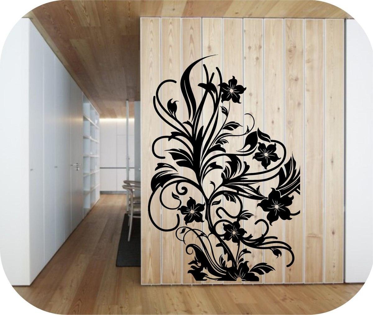 Vinilosdecorativos arboles y flores decoracion de paredes for Decoracion de paredes