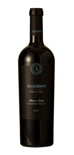 vino algodon cabernet franc black label x750cc