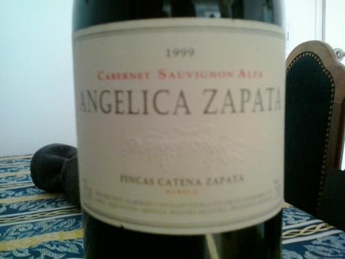 vino angélica zapata cabernet sauvignon alta 1999
