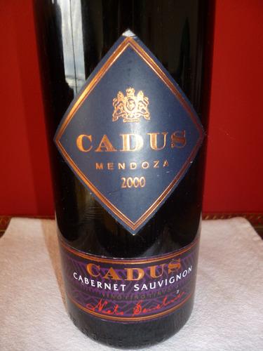 vino cadus cabernet sauvignon 2000 nieto senetiner