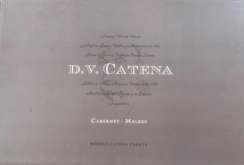 vino d v catena cabernet malbec 2007 (caja x6)