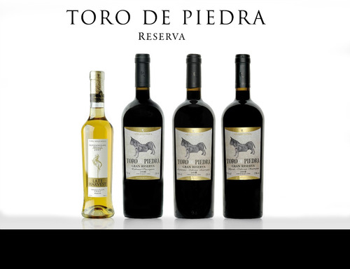 vino de exportacion toro de piedra gran reserva