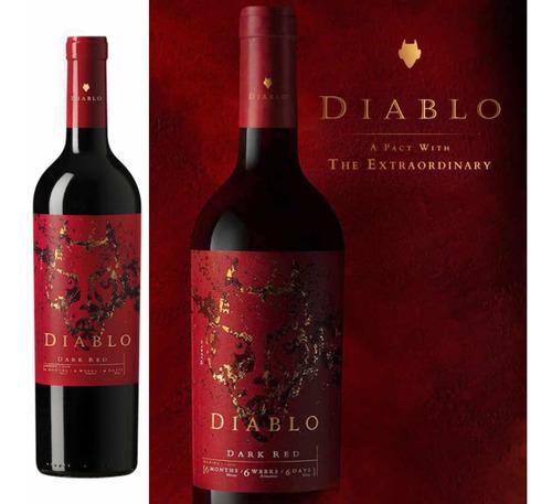 vino diablo dark red
