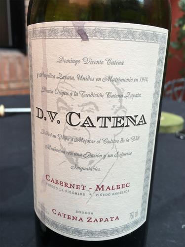 vino dv catena cabernet malbec blend tinto caja x6 750ml