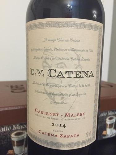 vino dv catena cabernet sauvignon/ malbec caja x6 unidades