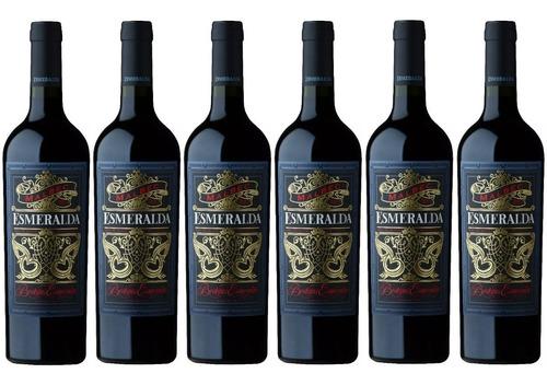 vino esmeralda caja x6 750 ml