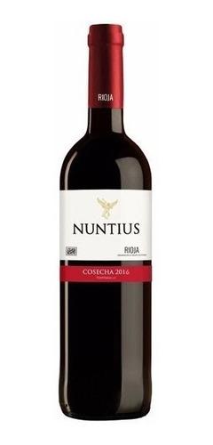 vino español rioja nuntius 2016 tempranillo envio grati caba