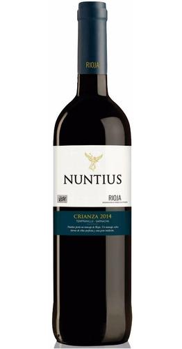 vino español rioja nuntius crianza 2014 envio gratis caba