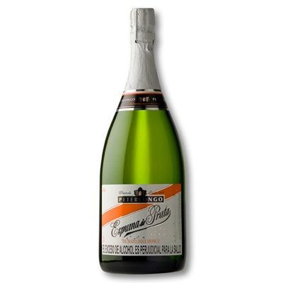 vino espumoso peterlongo blanco caja x12 unds 750ml