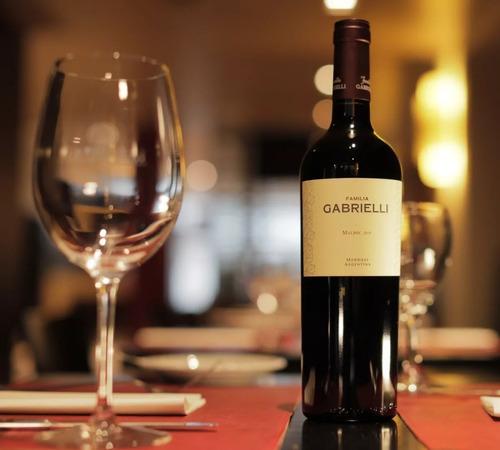 vino familia gabrielli malbec 2015 x750cc