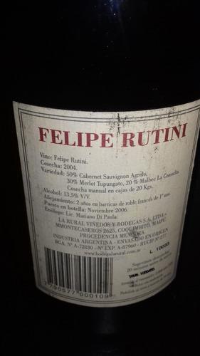 vino felipe rutini 2004