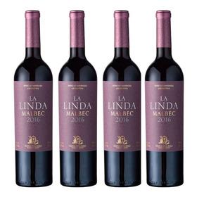 Vino Finca La Linda Malbec - Caja X 6 - Lalinda Bar