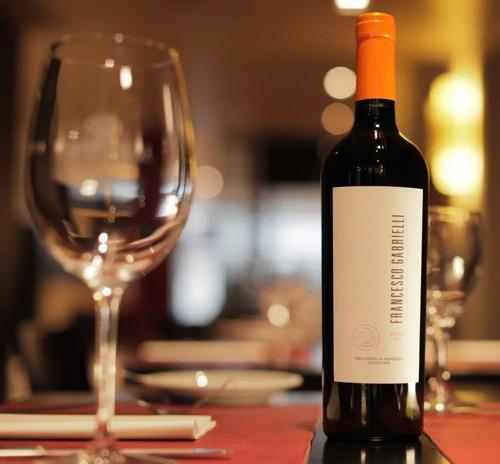 vino francesco gabrielli blend 2014 - caja x6 750cc e/gratis
