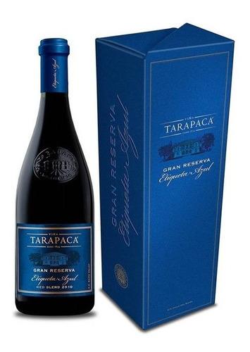 vino gran reserva tarapaca etiqueta azul