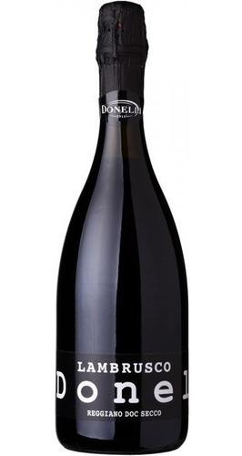 vino italiano donelli lambrusco reggiano secco envio gratis