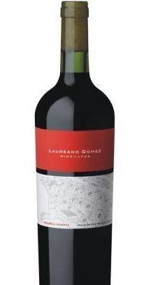 vino laureano gomez reserva malbec