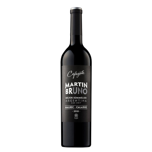 vino malbec cafayate martín bruno malbec - caladoc 750ml