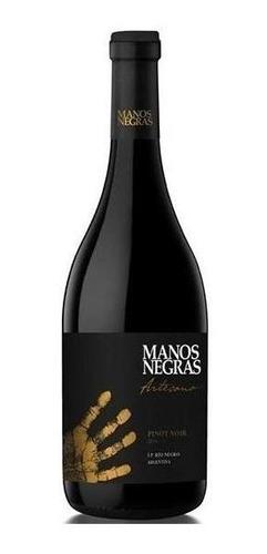 vino manos negras artesano pinot noir, bodega ernesto catena